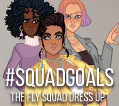 the fly squad fashion dress up game