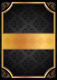 فكتور Backgrounds With Gold Elements 2 خلفيات بإطارات ذهبية