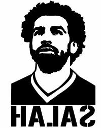 Mohamed Salah Liverpool Egypt Vinyl Decal Stickers For Cars Laptops