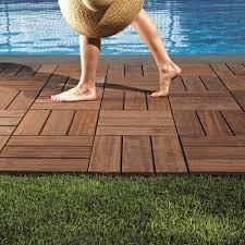 patio wood deck tiles ड क ग ट इल