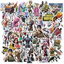 Amazon Com 104 Pcs Cool Waterproof Aesthetic Vinyl Game Stickers For Fortnite Funny Vinyl Stickers Pack For Laptop Hydroflasks Macbook Computer Phone Water Bottle Car Ps4 Bike Decals For Teens Boys Girls Adults Kitchen