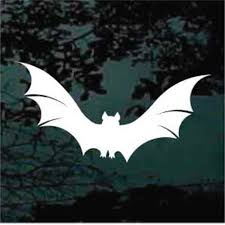 Bat Flying Car Window Decals Stickers Decal Junky