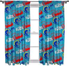 Amazon Com Disney Cars 3 Lightning Curtain Set Multi Colour 54 Inch Home Kitchen