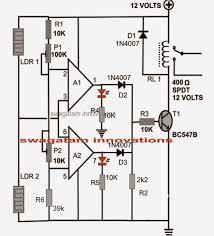 ldr motion detector alarm circuit