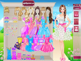 barbie princess dress up for