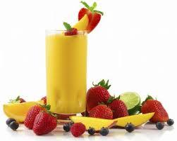 tropical fruit energy smoothie recipe