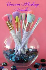 macy and mia unicorn makeup brushes are