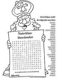 99 Beste Afbeeldingen Van Sinterklaas Puzzels Sinterklaas