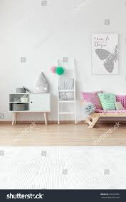Kid Room Big White Carpet On Stock Photo Edit Now 676416385