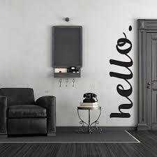 Hello Wall Words Decal Print4one