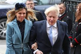 Boris Johnson names newborn baby Wilfred Lawrie Nicholas Johnson ...