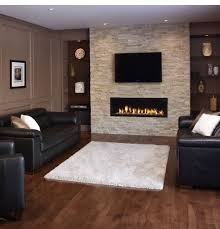 modern fireplace designs with glass for