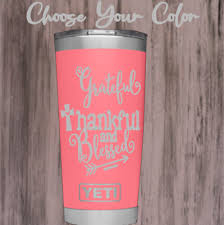 Monogram Vinyl Decal For Tumblers Cups Sticker With Inspirational Quote Ebay