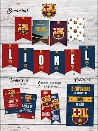 Extra Grande Fc Barcelona Envio Rapido Tarjeta De Cumpleanos