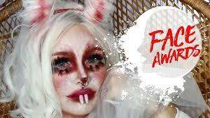 creepy cute bunny makeup tutorial nyx
