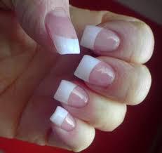 nail designs on white tips nail arts