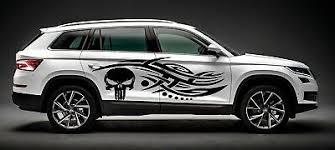 Halo 4 Tribal Car Vinyl Decal Side Hood Banner Visor Car Truck