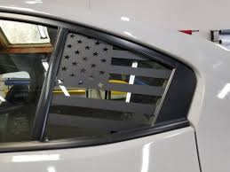 American Flag Quarter Window Decal 2015 2020 Wrx Sti Jdmfv Fanatic Wraps