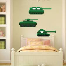 Tank Wall Decal Kids Wall Decal Murals Primedecals