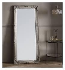 wall wooden floor mirror frame