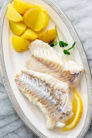 Cod Poached in Court Bouillon Recipe ...