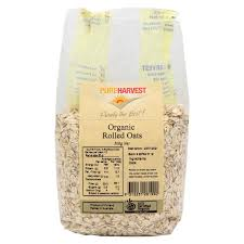 pure harvest organic rolled oats