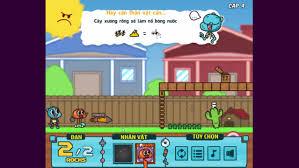 Video Cách chơi game Gumball bắn súng nước - Game Vui
