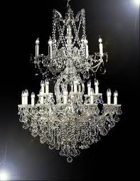 6sw maria theresa chandelier trimmed