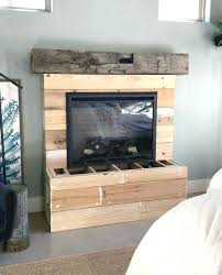 electric fireplaces with mantle