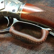 leather lever wrap dark brown