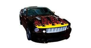 Flame Hood Car Decals Dezign With A Z