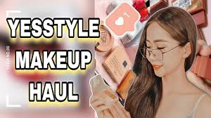 unboxing yesstyle makeup haul