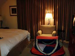 Bedroom Of 1 Bedroom Suite With Our Peapod Plus Kids Travel Tent Bed Picture Of Kingsmill Resort Williamsburg Tripadvisor