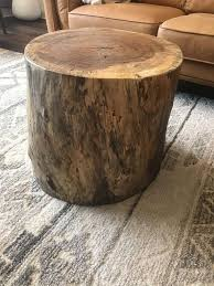 extra large red oak coffee table in