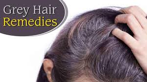 home remes for grey hair pre