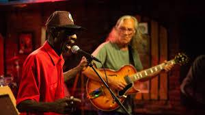 blues jam at the rusty nail saloon