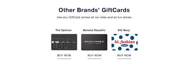 giftcards gap canada