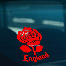 Hastingsdesigner England English Rose Car Window Bumper Or Laptop Vinyl Decal Sticker Red Buy Online In Burkina Faso Missing Category Value Products In Burkina Faso See Prices Reviews And Free Delivery