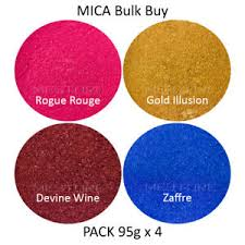 mica powder bulk 95gram 4 pack resin
