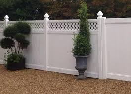 Plastic Fences High Quality Maintenance Free Upvc Plastic Fencing