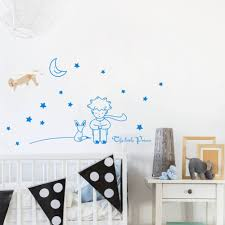 The Little Prince Wall Sticker Diy Stars Vinyl Mural Decal For Kids Baby Room Decor Wall Sticker Little Prince Wall Stickerprince Wall Stickers Aliexpress