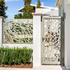 Decorative Laser Cut Metal Fence Panel Privacy Steel Fence Panel Perforated Iron Fence Panel Designs Wholesale Garden Buildings Products On Tradees Com
