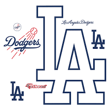 Los Angeles Dodgers Alternate Logo Giant Officially Licensed Mlb Removable Wall Decal Dodgers Baseball Teams Logo Los Angeles Dodgers Logo
