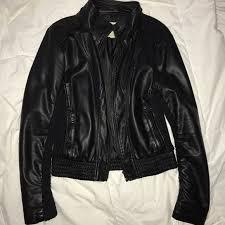la hearts leather jacket