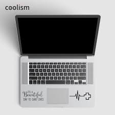 Grey S Anatomy Quote Laptop Sticker Trackpad Decal For Macbook Air Pro Retina 11 12 13 15 Inch Mac Suface Book Touchpad Skin Buy At The Price Of 4 96 In Aliexpress Com Imall Com