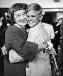 Bette Davis with her adopted son Michael Woodman Merrill. Michael ...