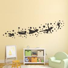peter pan wall decal removable vinyl