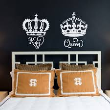 King And Queen Wall Decal Decor Decals Market