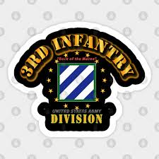 3rd Infantry Division Rock Of The Marne 3rd Infantry Division Rock Of The Marne Sticker Teepublic