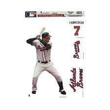 Atlanta Braves Official Mlb 11 Inch X 17 Inch Car Window Cling Decal By Wincraft Walmart Com